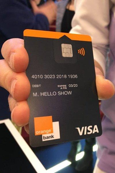 Carte Visa Premier Orange Bank.Smartphone France Android Edition Orange Bank Des Debuts